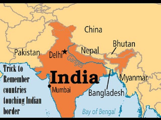List of India's neighbouring countries