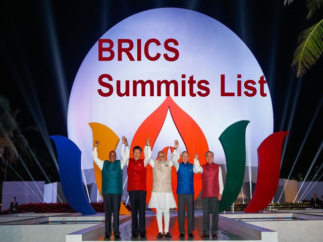 BRICS Leaders at Summit