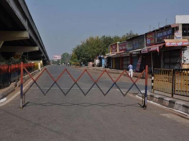 Lockdown scene in India