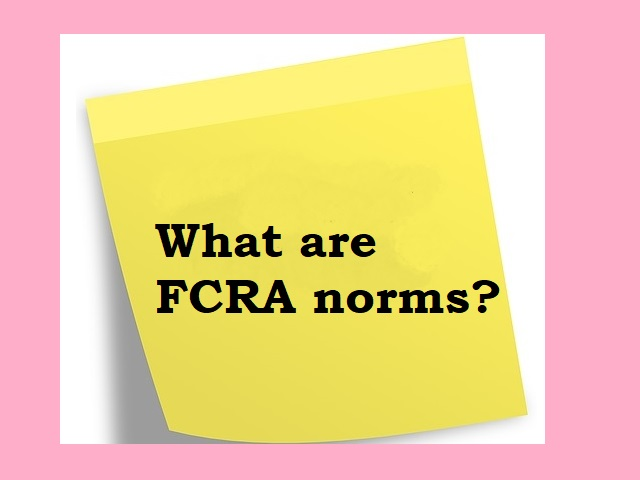 FCRA norms