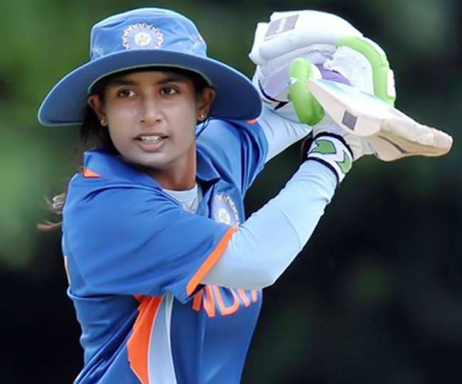 Mithali Raj in Action