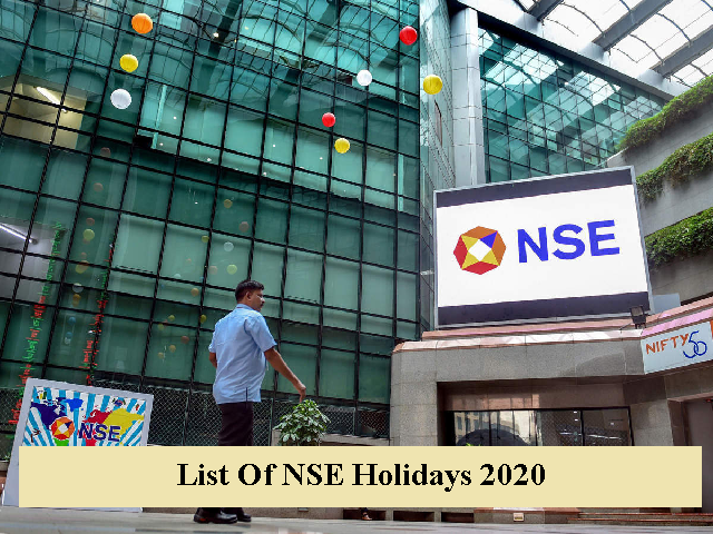 List of NSE holidays 2020