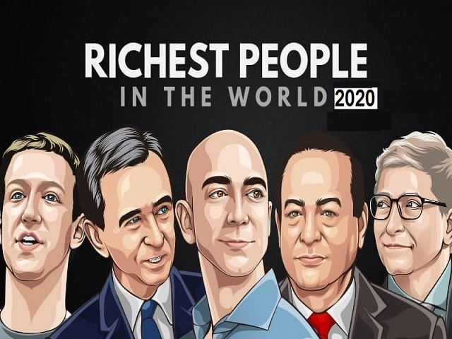 List of 20 Richest person in the world 2020