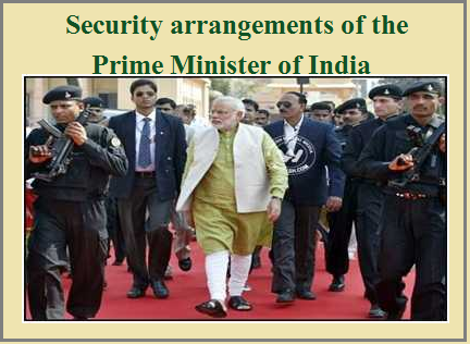 Security of Prime Minister of India