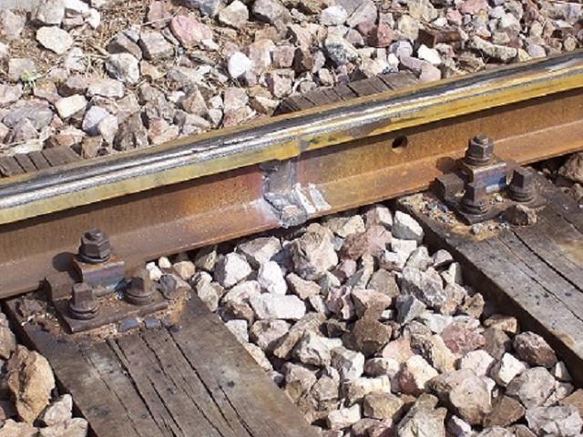 Stones on Rail Track