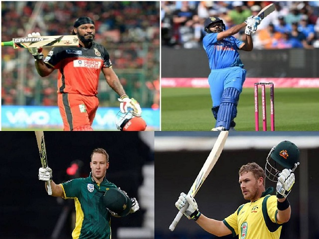 Players with T20 Centuries