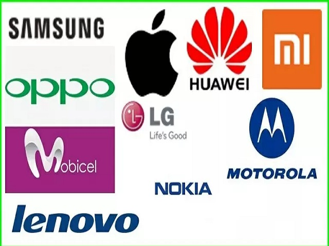 Mobile brands in the world