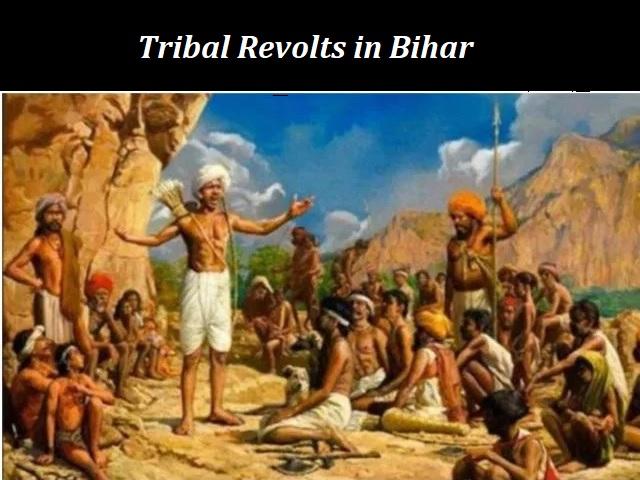 List of Tribal Revolt in Bihar
