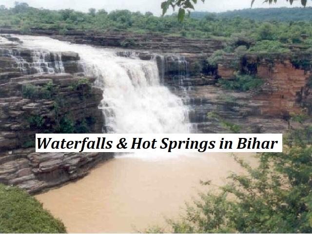 List of Waterfalls and Hot Springs in Bihar