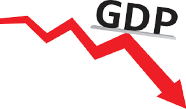 Falling GDP of India
