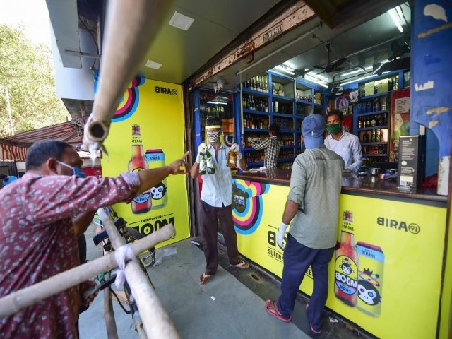Liquor sales amid COVID-19