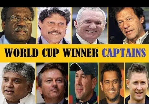 ICC World Cup Winning Captains
