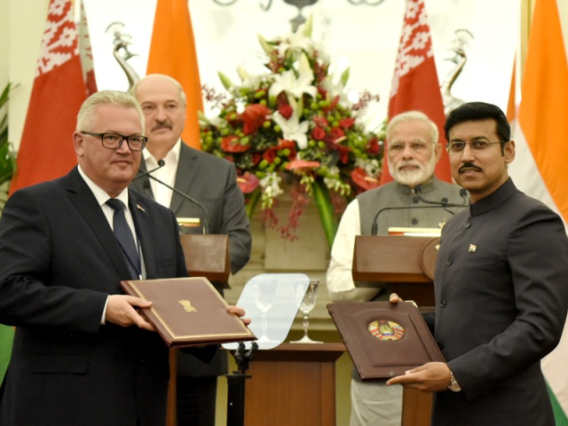 India, Belarus sign 10 pacts to expand cooperation