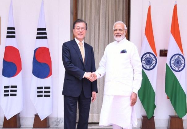 India, South Korea sign 7 MoUs