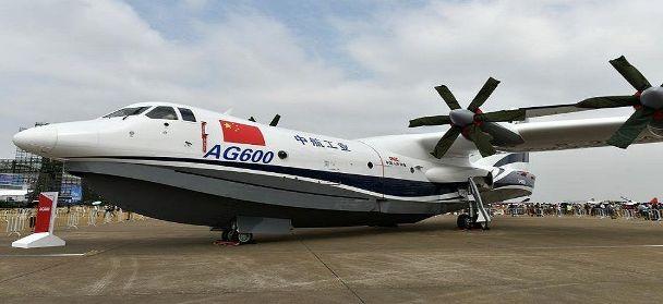 China-built world's largest amphibious plane, completes maiden flight test