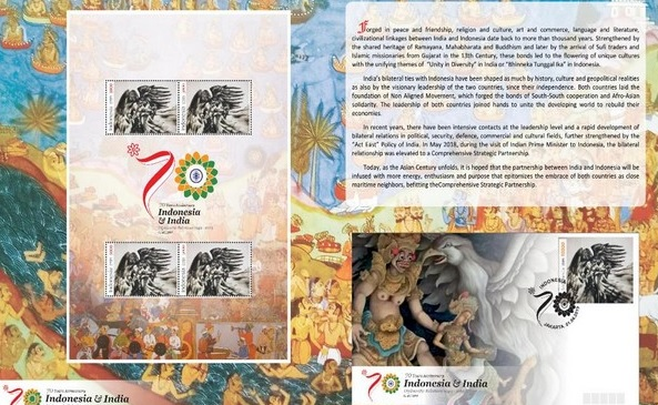 Indonesia releases special stamp on Ramayana theme