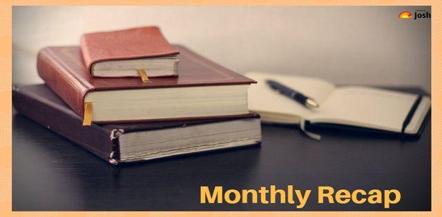 Monthly Recap: August Current Affairs