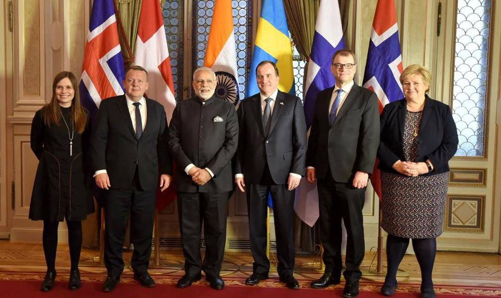 India and Sweden join action plan signed